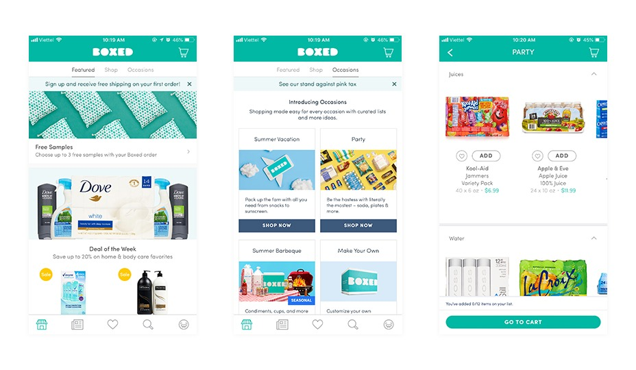 Top 7 Ecommerce Apps for your inspiration in 2018