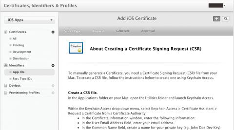 Apple Developer's Certificate
