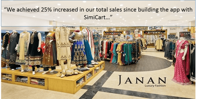 Janan Mobile Fashion App