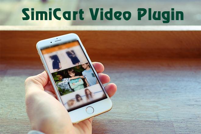 Simi Video plugin on mobile shopping app