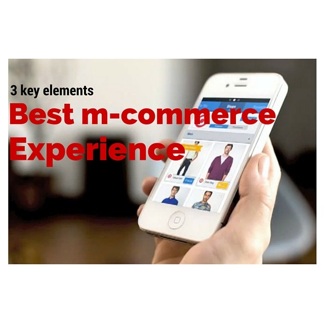 3 key elements to design the best mobile e-commerce experience