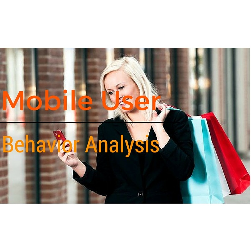 Studying mobile user behavior is very important in doing marketing strategy