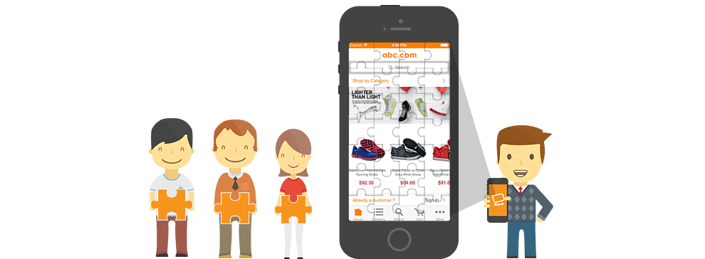 Build a mobile app yourself m commerce blog simicart build a mobile app yourself solutioingenieria Image collections