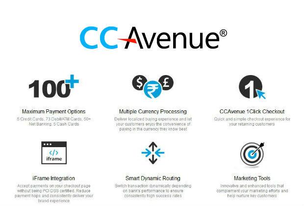 CCAvenue payment gateway integration features