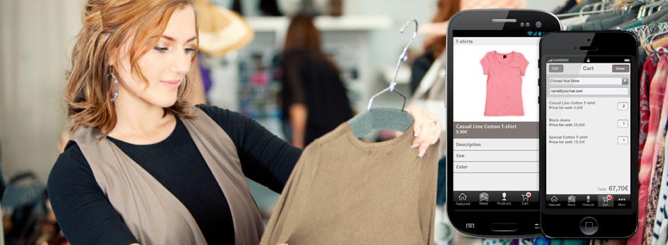Fashion shopping app 1