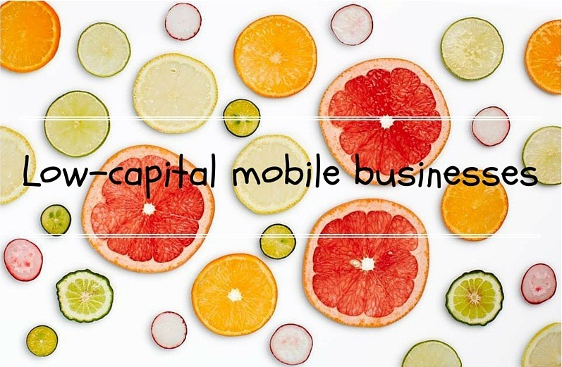 low-capital mobile commerce businesses 7