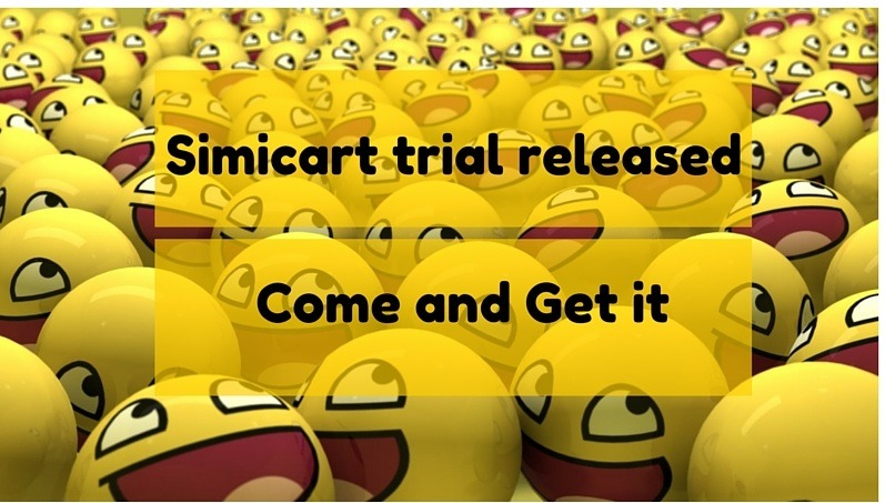 trial version of Simicart 7