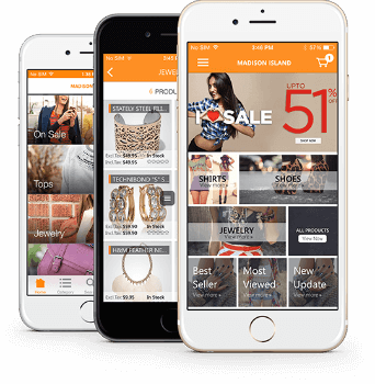 Mobile Shopping App Design Trend Alert: Card layouts