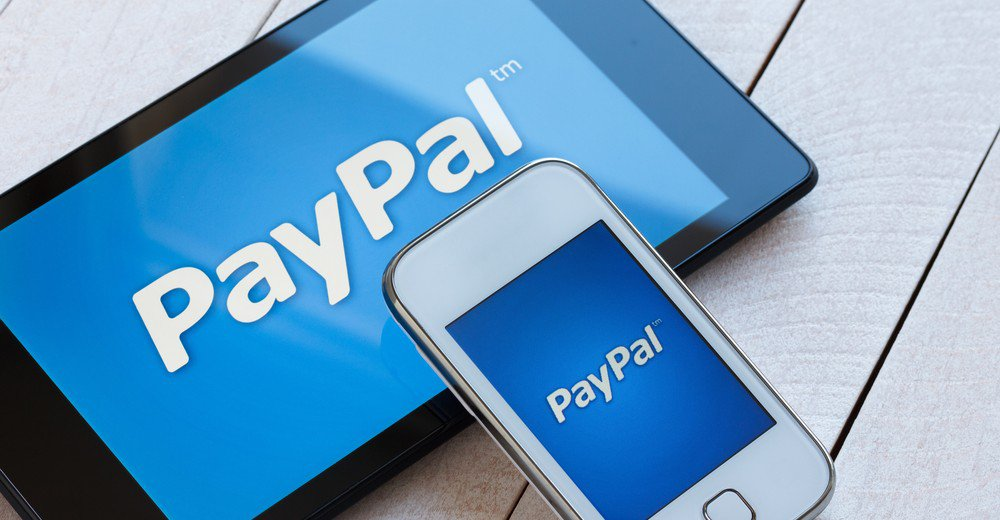 log into paypal account
