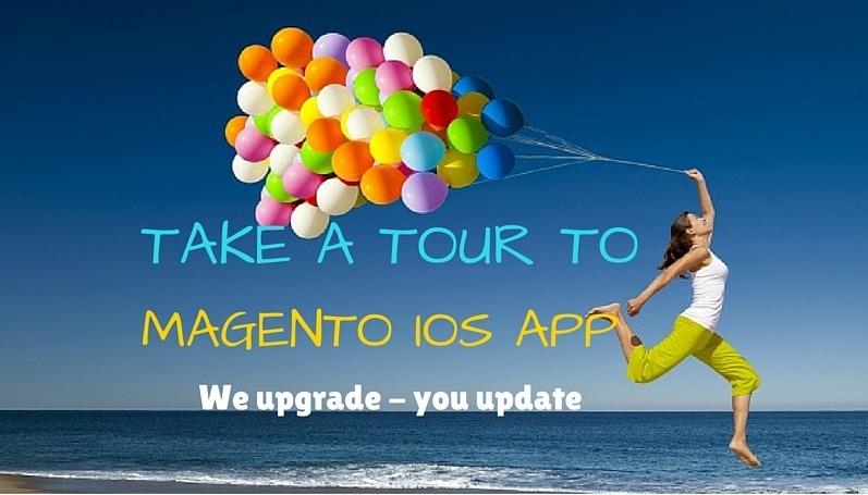Magento iOS app landing page 3