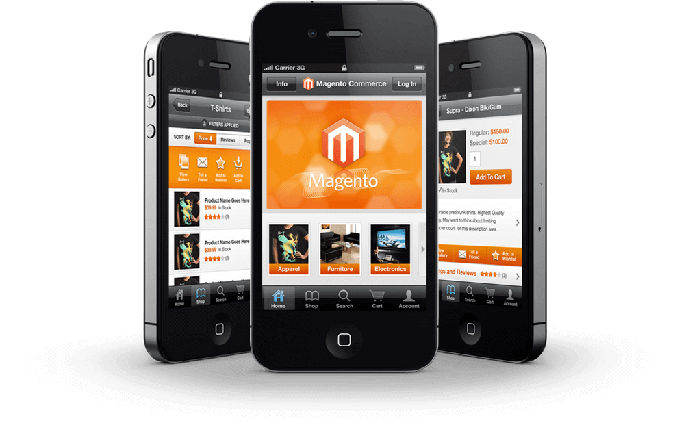 How to convert Magento to mobile app?