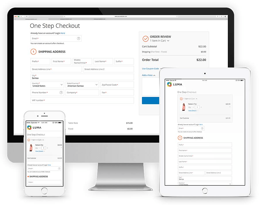 Aheadworks Smart One-Step Checkout