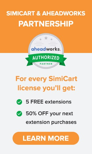 SimiCart - Aheadworks Partnership