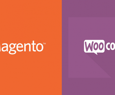 Magento vs woocommerce - feature photo
