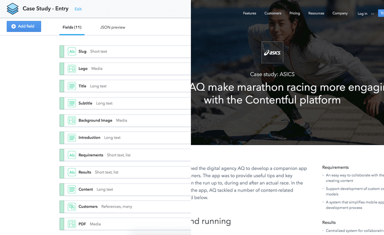 Content modeling in headless CMS