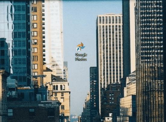 Google Photos PWA desktop icon