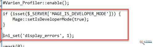 enable developer mode Magento