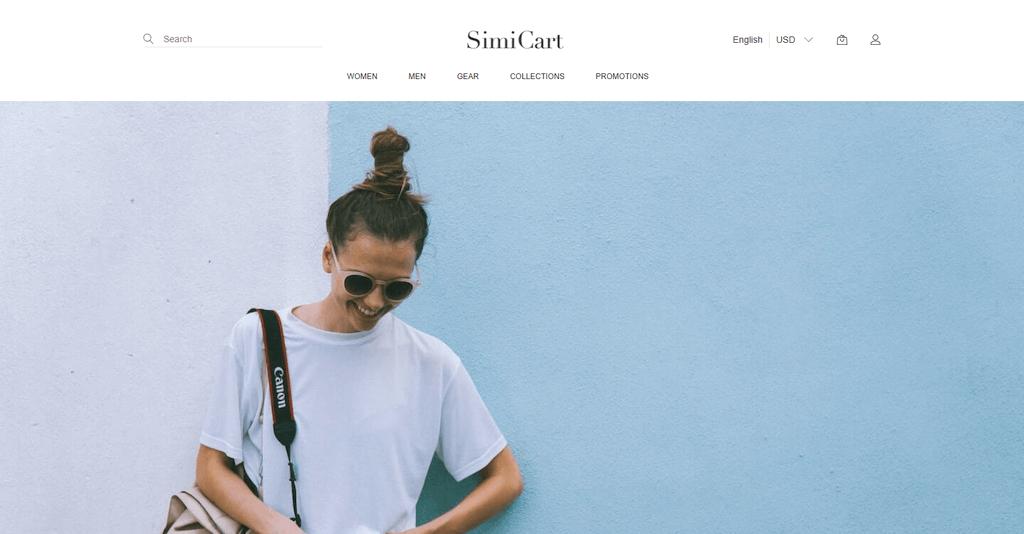 Fashion theme by SimiCart
