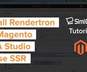 install Rendertron Magento PWA Studio