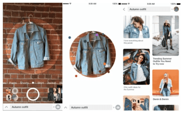 Target and ASOS image search example