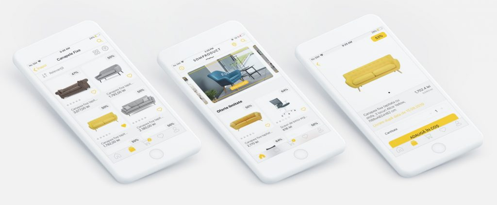 Optimize mobile app design for a better shopping experience