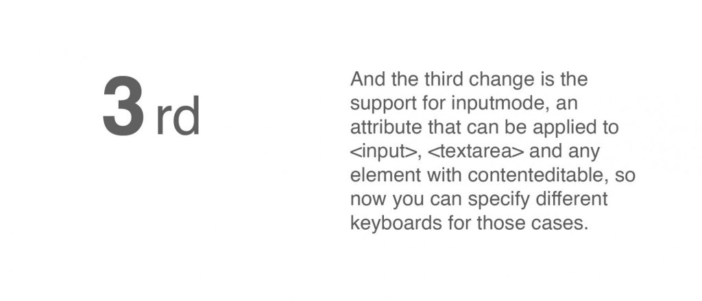 Input text PWA iOS