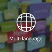 Multi-language feature - logo
