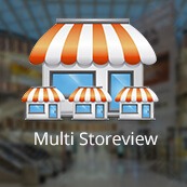 Multi Storeview for mobile app - Logo
