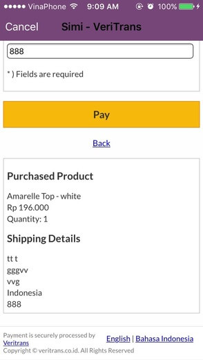 popular payment gateway in Indonesia - Veritrans