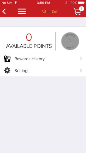 customer panel feature - review reward point