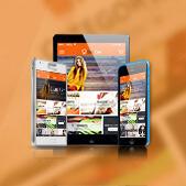 Matrix theme - Theme for mobile app