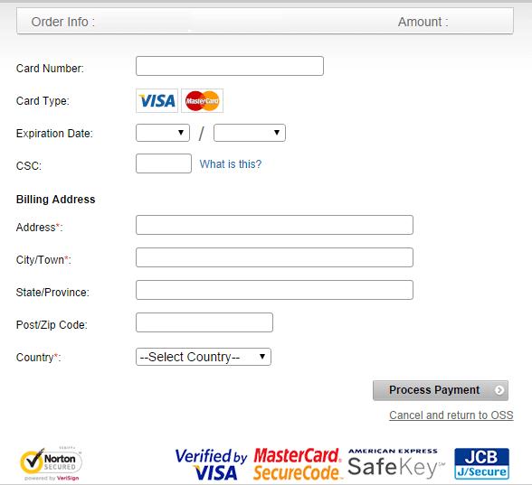 SimiCart Payment Process