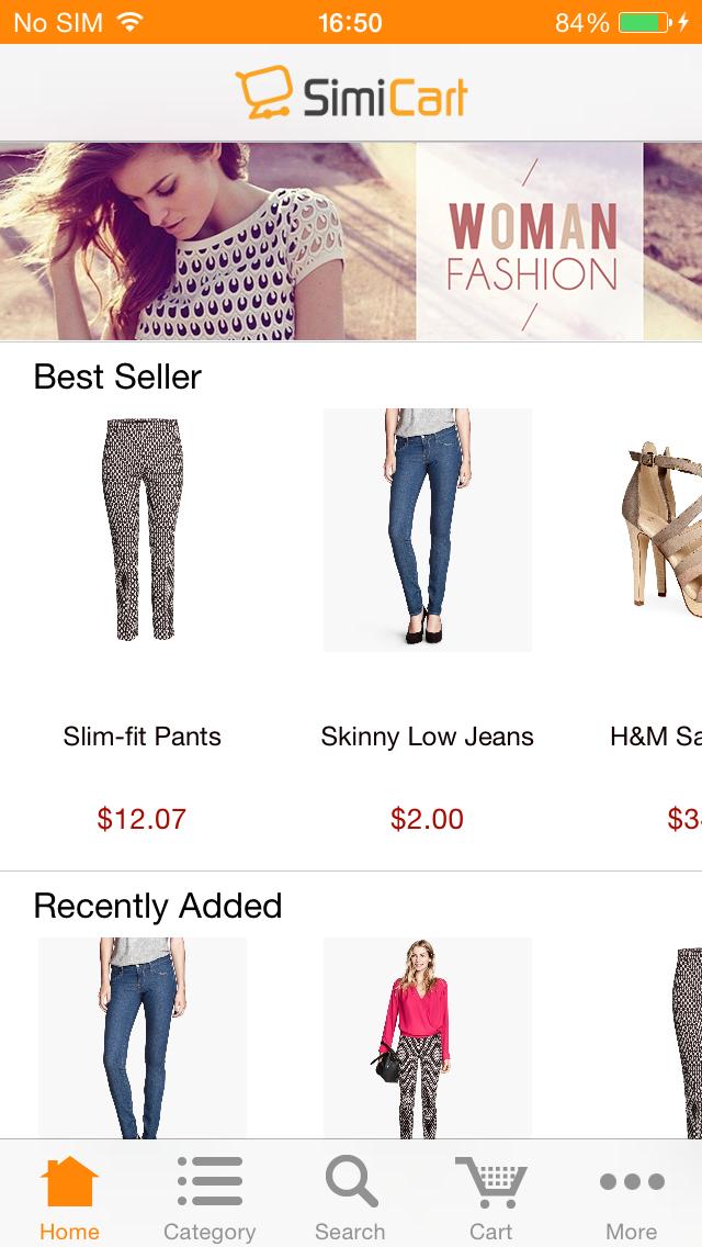 M-commerce - Mobile Shopping App - Magento Mobile App Builder - Magento Mobile Extension - SimiCart