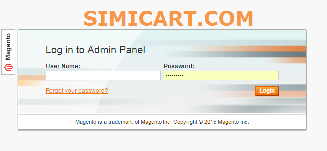 Magento Login API - Magento application programing interface