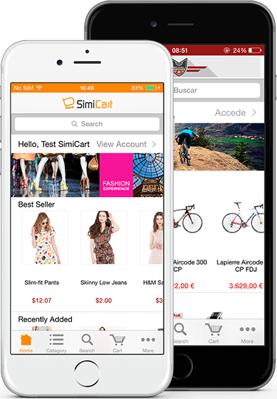 How to build mobile apps for magento store with SimiCart