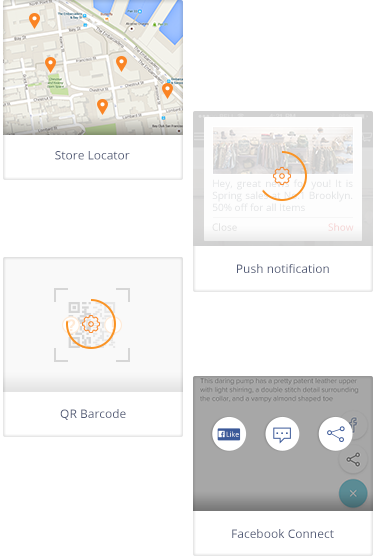 Magento mobile app plugins