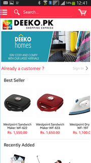 free magento mobile apps for magento shopping store | DEEKO.PK