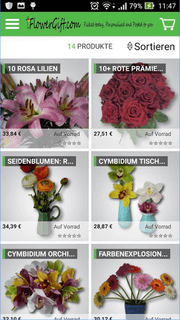 free magento mobile apps for magento shopping store | Flower Gift